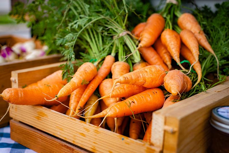 Cà rốt là thực phẩm rất tốt cho mắt